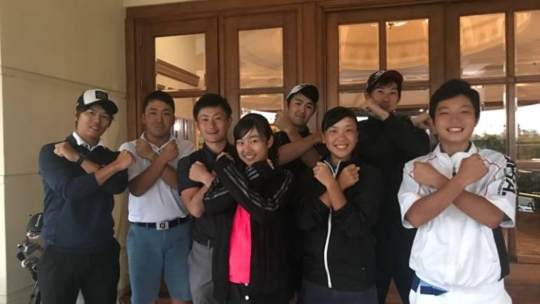 【短期合宿】中央学院大学ゴルフ部2名の1週間
